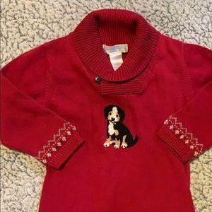 Janie and jack sweater onesie